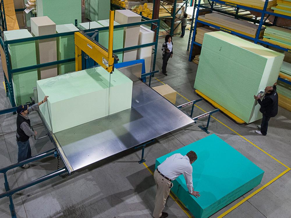 what does a foam block look like