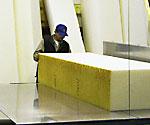 vertical foam cutting band saw