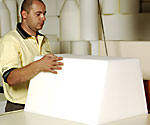 how to angle cut flexible foam