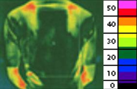 thermographic coolmax mattress testing