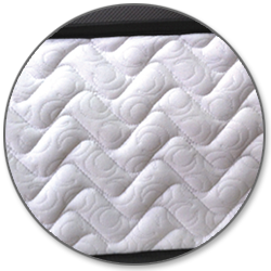 euro top mattress cover with mesh border