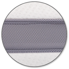 mesh mattress border for maximum air flow