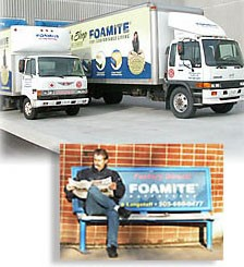 company that delivers their own mattresses
