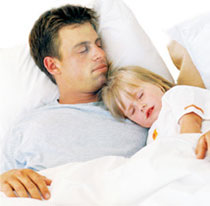 putting your child to bed
