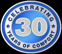 Celebrating 30 years of comfort